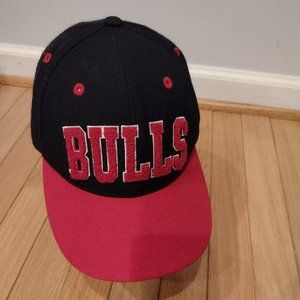 Adidas Chicago Bulls Hat Fitted Wool 7 1/8 NBA